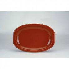 Fuente Oval Con Asas Churrasco 32x20 cm (Caja 4 Uds)