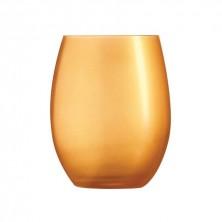Vasos Primarific Oro 36 cl (Caja 6 uds)