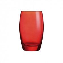 Vasos Color Studio Rojo 35cl (Caja 6 uds)