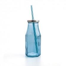 Botellas Cool Con Pajita Renova 25 cl (Caja 24 uds)