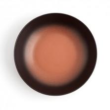 Plato Hondo Terracotta Splash 21 cm (Caja 6 uds)