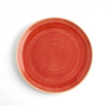 Plato Llano Terra Rojo 29 cm (Caja 6 uds)
