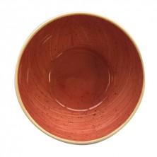 Bol Terra Rojo 15x7,5 cm (Caja 6 uds)