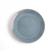 Plato Llano Terra Azul 24 cm (Caja 6 uds)