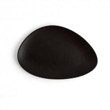 Plato Triangular Antracita Negro 29 cm (Caja 12 uds)