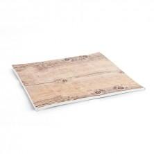 Fuente Rectangular Select Acabados En Madera 30x20x1 cm (Caja 24 uds)