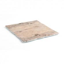 Fuente Cuadrada Select Acabados En Madera 28x28x1 cm (Caja 12 uds)