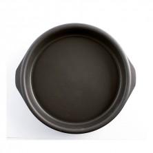 Cazuela Redonda Con Asas Barro Negro 22 cm (Caja 12 Uds)