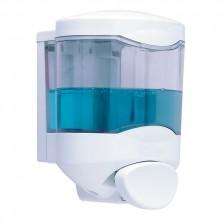 Dispensador Jabón Crystal 450 ml Pulsador