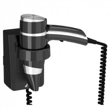 Secador Pelo Brittony Negro 1600 W + Soporte