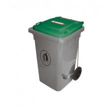Cubo Basura 120 L Verde