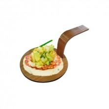 Mini Pala Redonda Bambú Natural 5 cm (Pack 100 Uds)