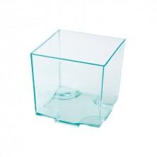Mini Cubo Asia Apilable Verdeagua 65 ml/ 4,2cm (Pack 20 Uds)