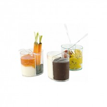 Elipses Transparente Luxe 2x60 ml - 6,5x6,5 cm (Caja 100 Uds)