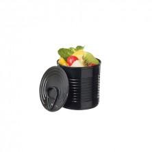 Bote Conservas Mini Negro Luxe 60 ml - 5,1x4,8 cm (Caja 25 Uds)
