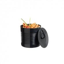 Bote Conservas Medium Negro Luxe 110 ml - 6x5,7 cm (Caja 25 Uds)