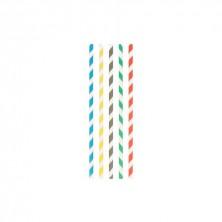 Canutillo Papel Rectos Sin Funda 0,6 cm - 20 cm largo (Caja 250 Uds)