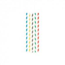 Canutillo Papel Rectos Con Funda 0,6 cm - 20 cm largo (Caja 250 Uds)