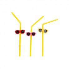 Canutillos Surtido De Gafas Colores 23,5 cm alto (Caja 100 Uds)