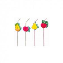 Canutillos Surtido Frutas Gigantes 33 cm alto (Caja 50 Uds)