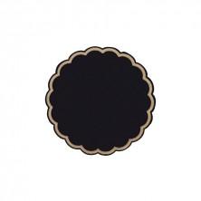 Posavasos Tisú Negro 8x18 g/m2 (Caja 250 Uds)