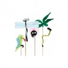 Surtido Adornos Chenille 19/26 cm alto (Pack 100 Uds)