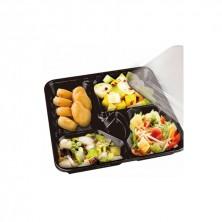 Cofres Plástico Económicos Para Llevar 27,8 x 27,6 x 5 cm (Cartón 200 Uds)