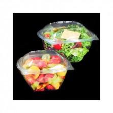 Ensaladeras Plástico Redondas Económicas 375 ml (Cartón 600 Uds)