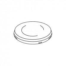Tapa Plástico Baja Para 150 ml y 240 ml (Cartón 1.000 Uds)