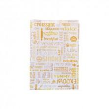 Bolsa Cruasán Celulosa 19 + 8 x 26 cm (Caja 500 Uds)