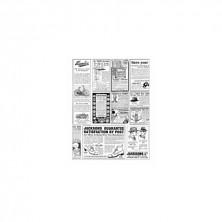 Envoltorio Para Hamburguesas Times Blanco Y Negro 28 x 34 cm (Pack 1.000 Uds)