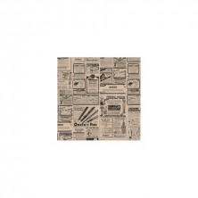 Envoltorio Para Recipientes Presentación Mesa Times Kraft 31 x 31 cm (Pack 1.000 Uds)