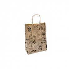 Bolsa Times 20 + 10 x 29 cm (Caja 250 Uds)