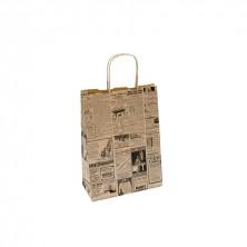 Bolsa Times 25 + 14 x 32 cm (Caja 250 Uds)