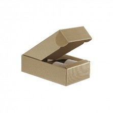Caja Cartón Ondulado Para 2 Botellas 34 x 18,5 x 9 cm (Pack 30 Uds)