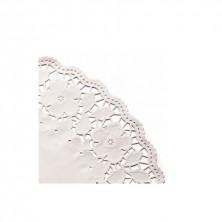 Rodales Calados Blancos Celulosa 14 cm diámetro (Caja 250 Uds)