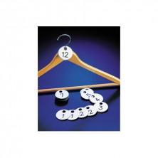 Guardarropa Lotes Duplicados 4,5 cm diámetro l 1 al 100