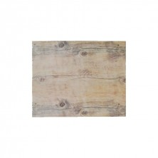 Placa de Melamina Rectangulares Imitación Madera 32 x 26 cm