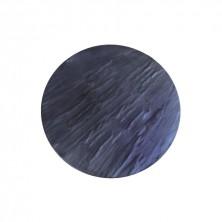Placas de Melamina Redonda Imitación Pizarra Negra 33 cm diámetro