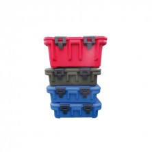 Caja Contenedor Negra 34 L - 64 x 45 x 30 cm Exterior, 52 x 32 x 20 cm Interior