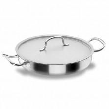 Paellera Con Tapa Chef - Classic 24 cm