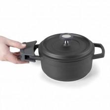 Manopla Negra De Silicona 20 - 24 - 28 cm diámetro