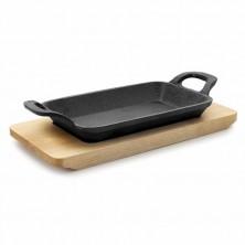 Mini Plancha Grill Rectangular Magma 17 x 10 cm