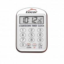 Reloj Cocina Con Alarma 13 x 24,5 x 2,5 cm