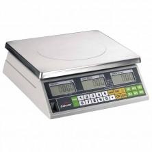Báscula Profesional Electrónica Con Base Cuadrada Máximo 15 Kg (5 g)