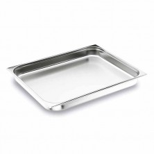 Cubeta 2/1 inox 40 mm De Alto