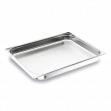 Cubeta 2/1 inox 65 mm De Alto