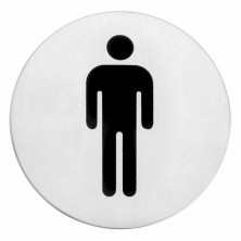 "Indicador ""HOMBRE"" 7,5 cm"