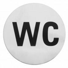 """Indicador """"WC"""" 7,5 cm"""