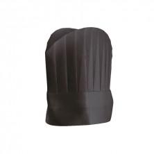 Gorro Ajustable Un Solo Uso Round Top Negro 25 cm